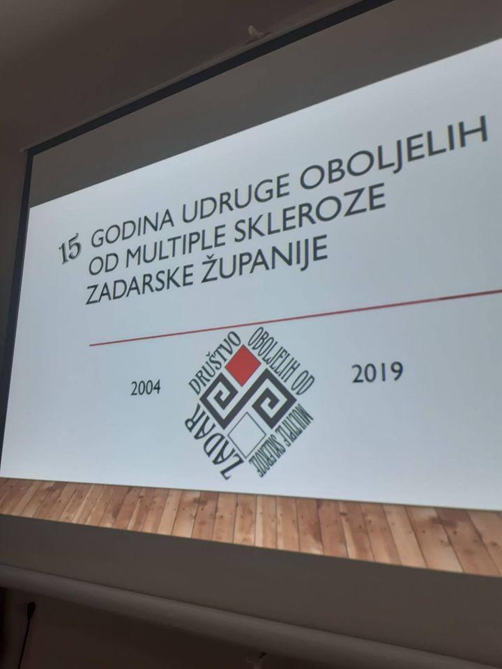 15 godina Udruge oboljelih od multiple skleroze Zadarske županije