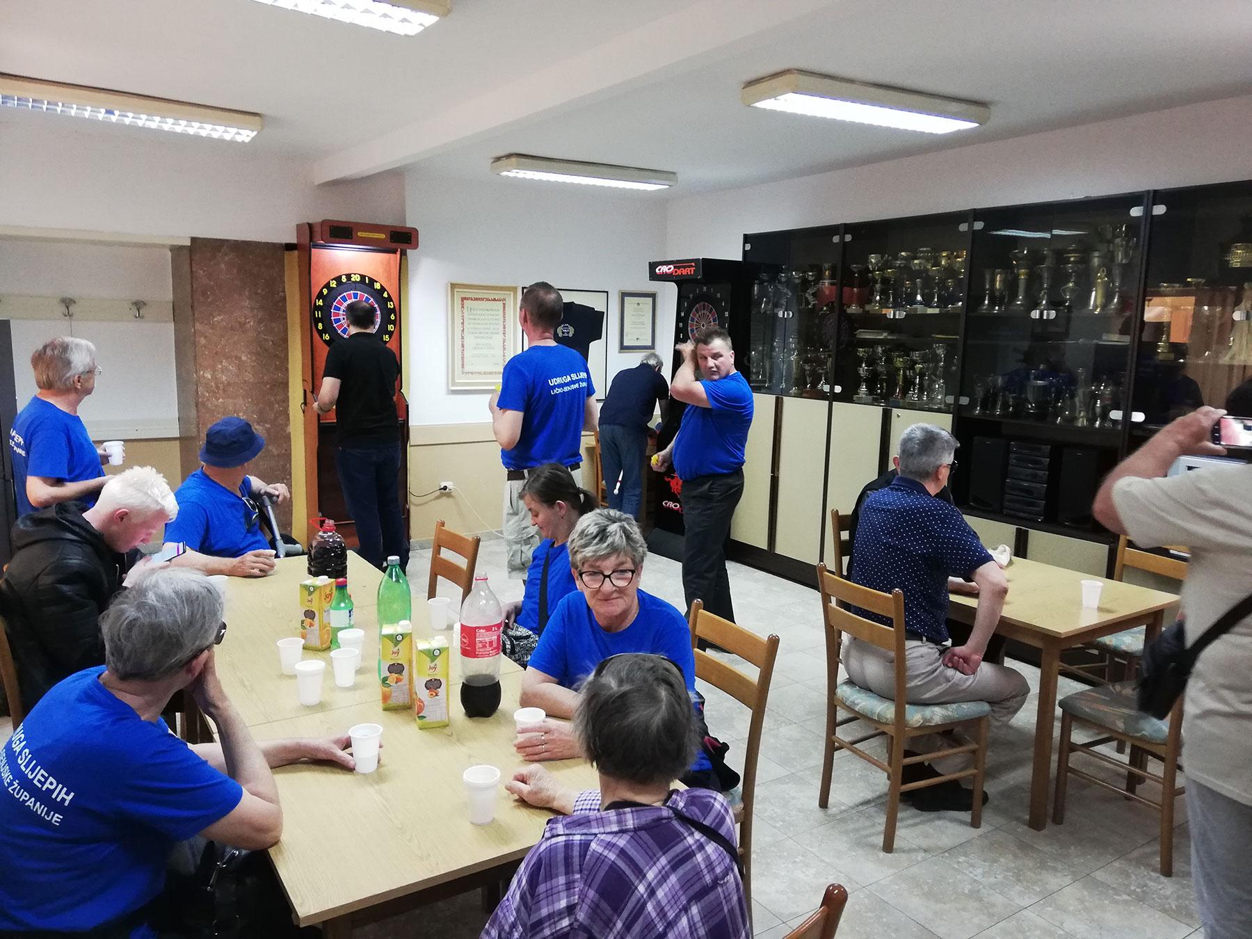 Posjet članova Udruge slijepih Ličko-senjske županije